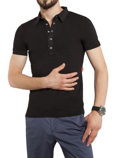 Comienzo Polo Yaka Tişört Siyah